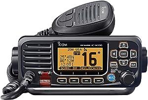 VHF Radio Fixed Mount Black