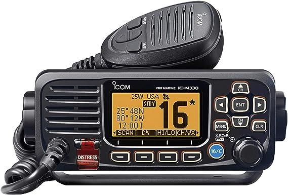 Amazon.co.jp: アイコムm330コンパクトVHFラジオ – ブラック/m330 11 ...