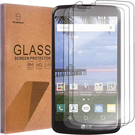 Amazon.com: [3-PACK]- Mr Shield For LG K10 [Tempered Glass] Screen ...