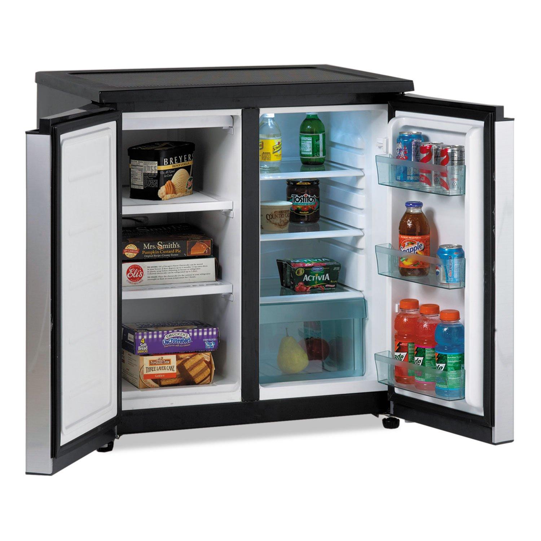 4COU Avanti RMS550PS 5.5 CF Side by Side - Refrigerador/congelador ...