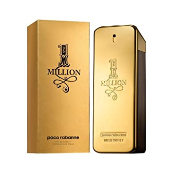 Amazoncom Paco Rabanne 1 One Million Edt 100ml 34oz Eau De