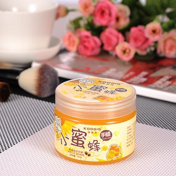 Greencolourful máscara mano Spa Tratamiento Hidratante Leche Miel máscara belleza tu manos: Amazon.es: Belleza