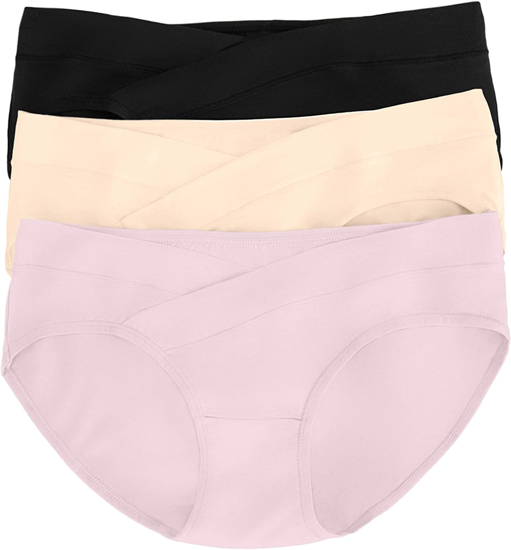 Kindred Bravely Under The Bump Maternity Underwear/Pregnancy Panties - Bikini 3 Pack