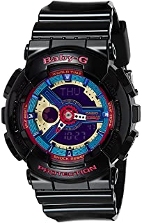 7213e9f3a9 Amazon.com: Casio Baby-G BA-110TP-2A Tribal Pattern Series Analog ...