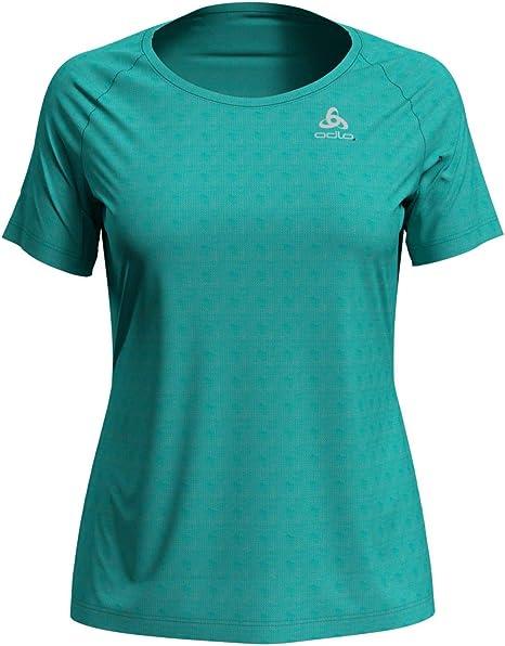 Odlo T-Shirt S/S Rundhalsausschnitt Element Licht - Camiseta para Mujer. Mujer: Amazon.es: Deportes y aire libre