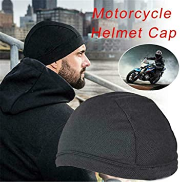 Sweat Wicking Cap Cooling Skull Cap Helmet Inner Liner Beanie Dome Cap for Men
