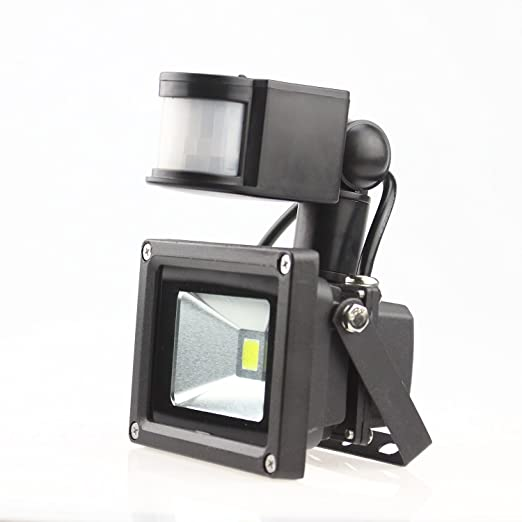 Sunbon led low energy flood light with pir sensor black diecast sunbon led low energy flood light with pir sensor black diecast aluminium body ip54 aloadofball Choice Image
