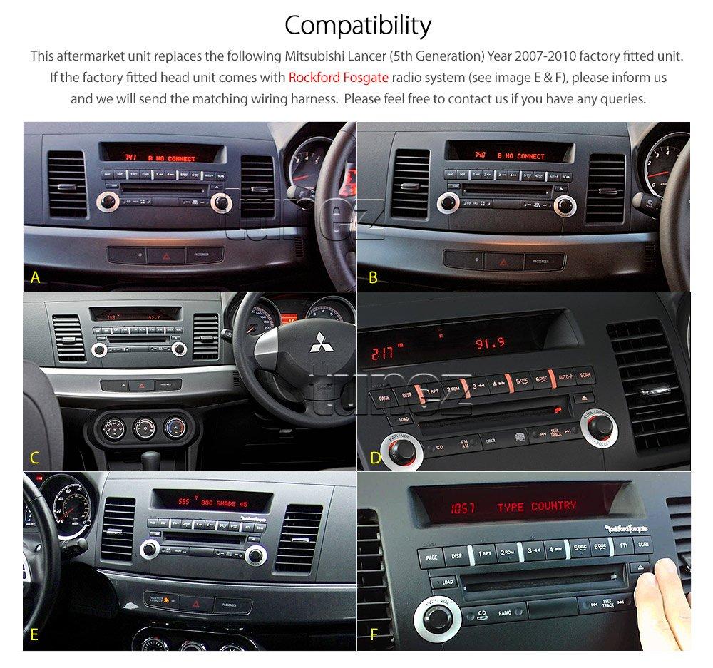 Tunez Mitsubishi Lancer Cj Auto Gps Dvd Player Stereo Bp Wiring Harness Elektronik