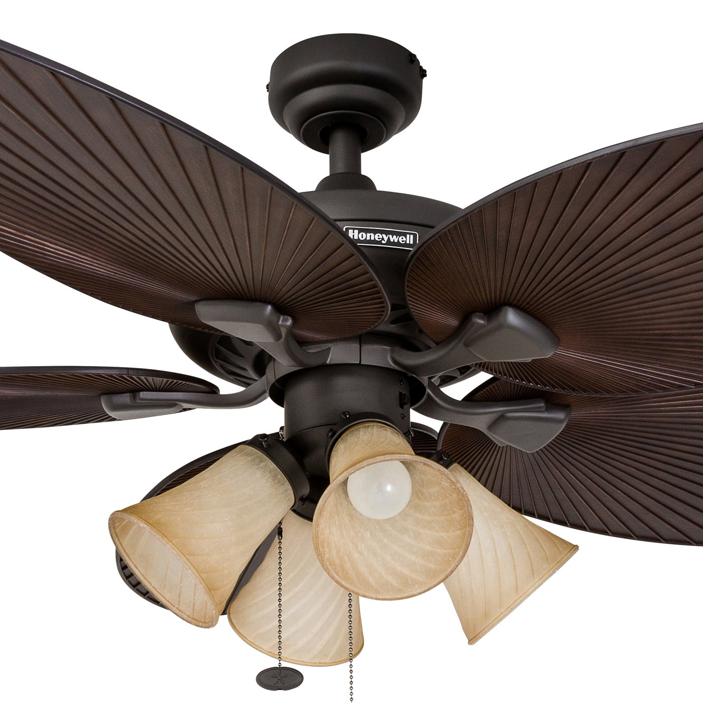 100 palm blade ceiling fan with light elegant home decorato