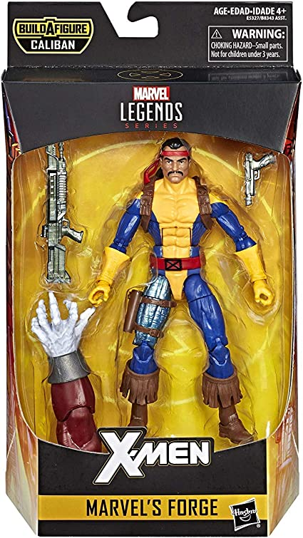 """Marvel Legends FORGE x-men Caliban BAF Wave 6/"""" Action Figure-NEUF"""
