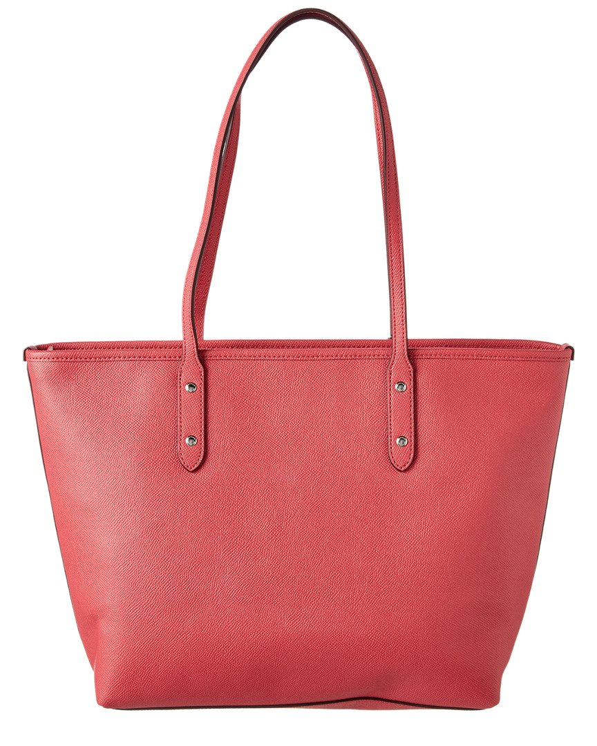 Coach City Crossgrain Leather Tote