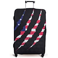Luggage Cover Suitcase Protector Fits 19-33 Inch TSA Approved Travel Suitcase Cover Washable Dustproof Anti-Scratch (S…