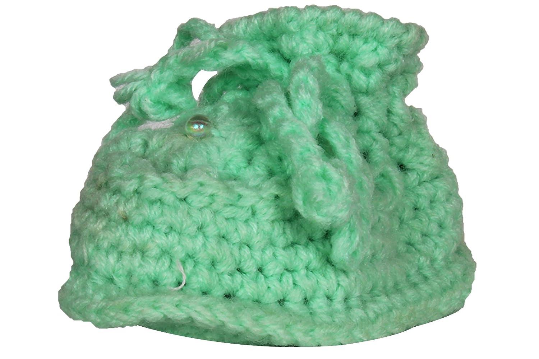 Ole Baby Soft Handmade Crochet Knit Sock Infant Woolen Shoes0 6