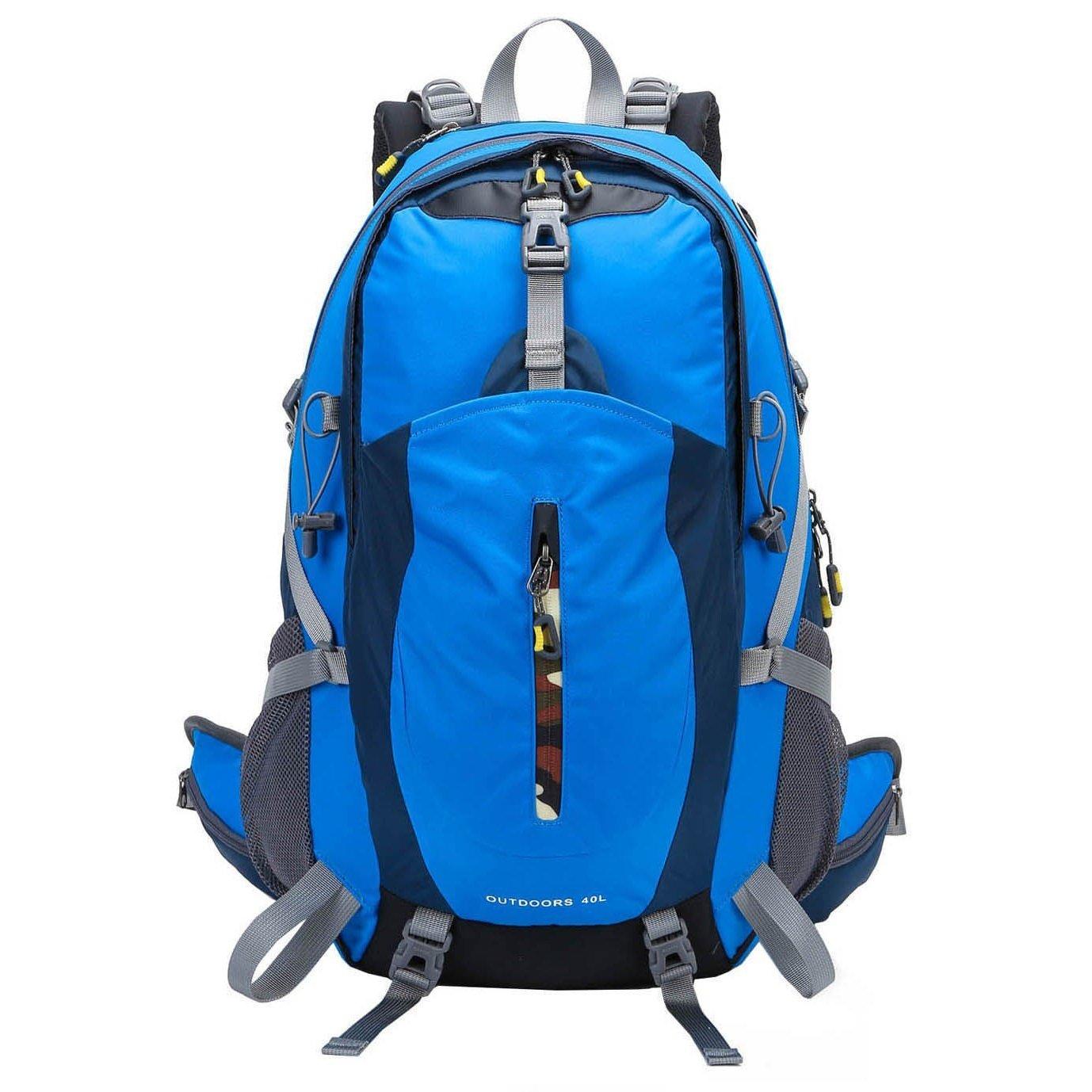 ZOUQILAI Outdoor Climbing Backpack Men And Women Sports Travel Backpack Hiking Camping Cycling Climbing Travel Bag 40L