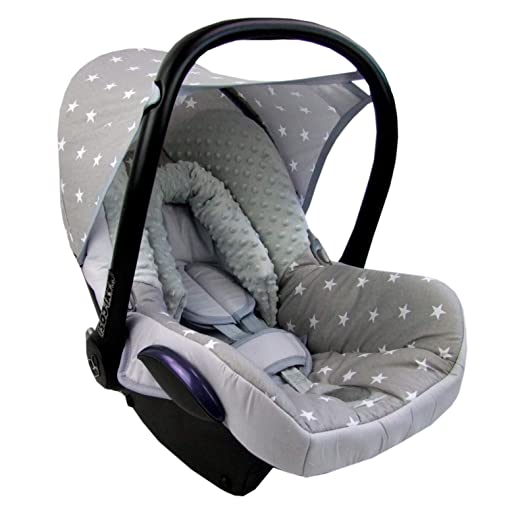 Bambiniwelt Ersatzbezug Für Maxi Cosi Cabriofix 6 Tlg Minky Mb 5 Bezug Für Babyschale Komplett Set Xx Baby