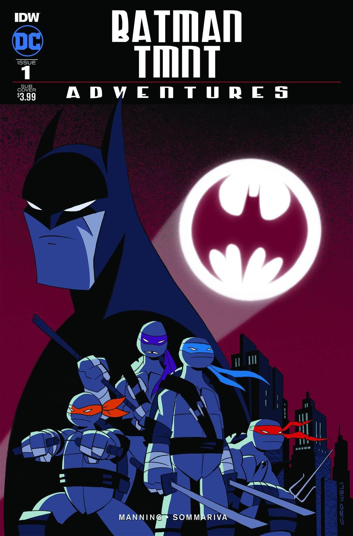 BATMAN TEENAGE MUTANT NINJA TURTLES ADVENTURES #1 (OF 6 ...