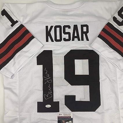 017f7fa81 Bernie Kosar Signed Jersey - White COA - JSA Certified - Autographed NFL  Jerseys