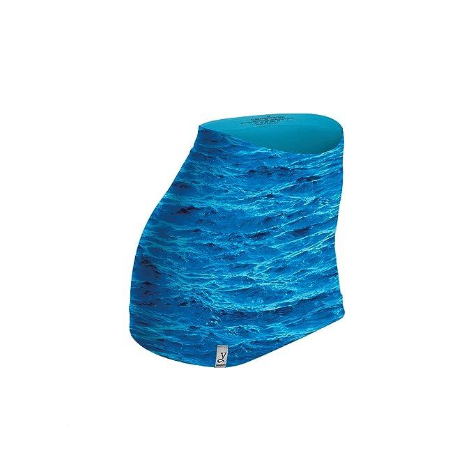 Kidneykaren - Calentador lumbar - para mujer Azul azul (ocean) L