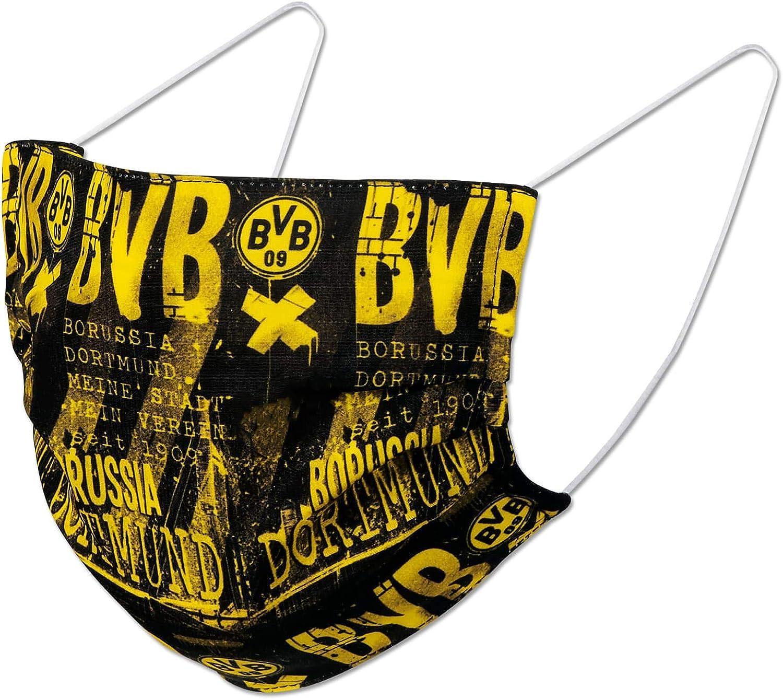 Borussia Dortmund Bvb 09 Bvb Design Mask Amazon De Bekleidung