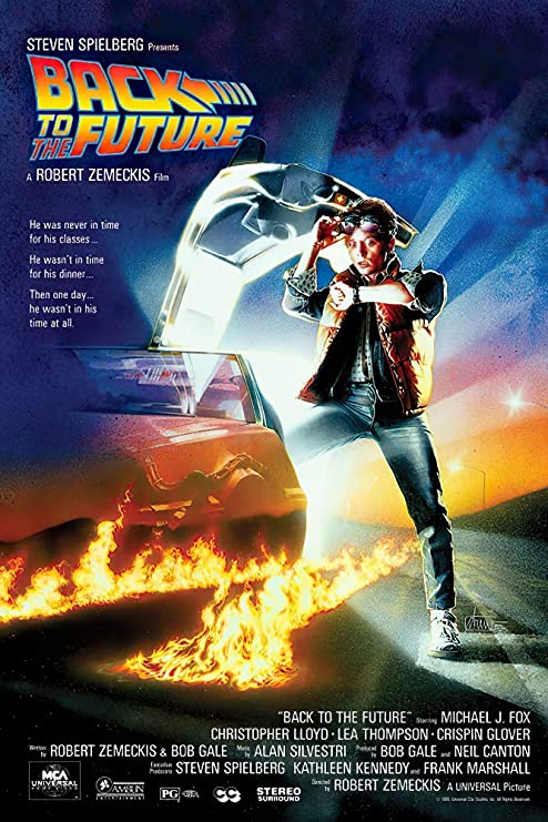 back to the future movie poster regular style size 24 x 36