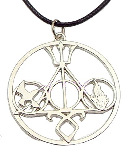 City of bones Divergent Percy Jackson Hunger Games pendant necklace UK sale