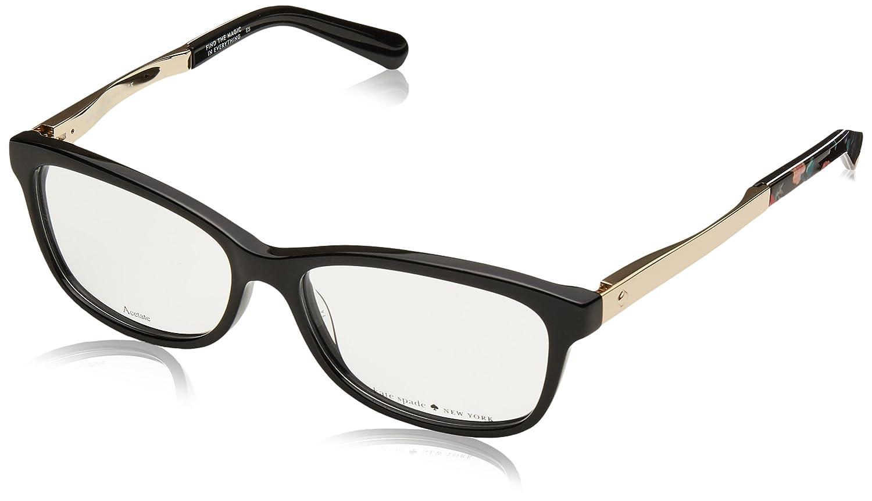 354ee6bfce8 Amazon.com  Eyeglasses Kate Spade Angelisa 0807 Black  Clothing