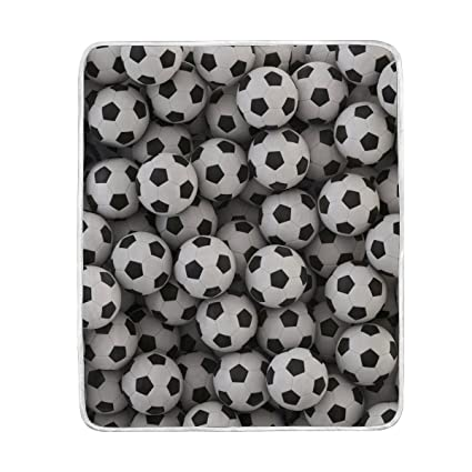 Amazon ALAZA Soccer Ball Football Plush Throws Siesta Camping Beauteous Soccer Blankets And Throws