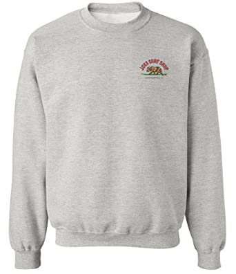 85fa3a61e372 Amazon.com  Joe s Surf Shop Graphic Crewneck Sweatshirts Collection ...