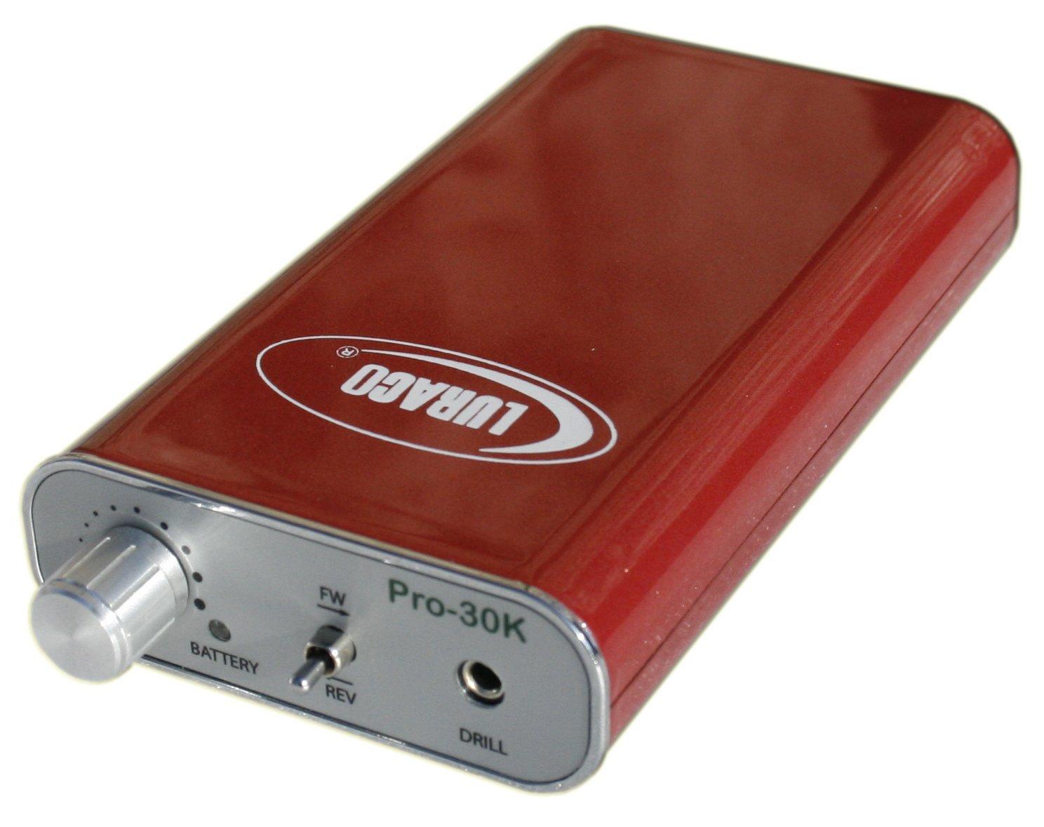 Amazon.com: Luraco Pro-30K Electric Nail Drill (White): Health ...