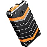 Outdoor Power Bank,16000mAh Dual USB with IP67 Waterproof Shockproof Dustproof Quick Charge Rugged Portable Powerbank and Emergency LED lights for Nintendo Switch iPhone iPad Samsung Explore Camping Travel [TNTOR®]