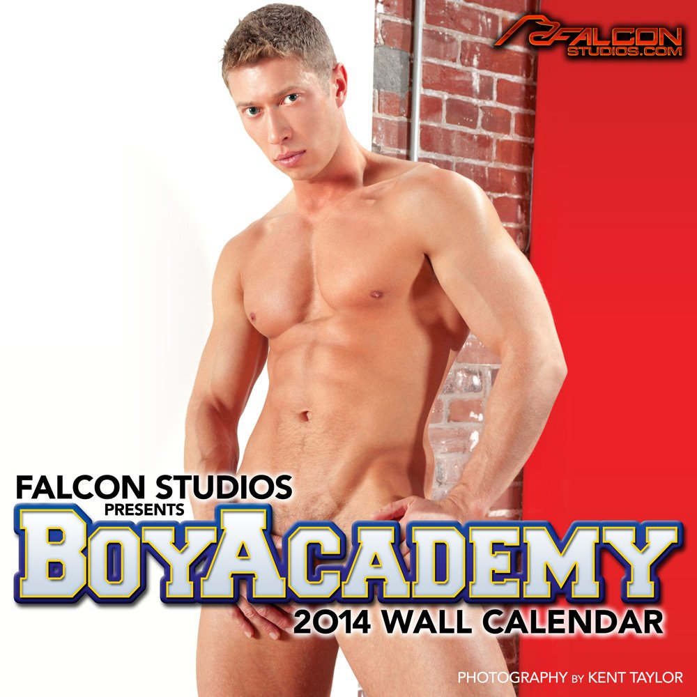 By Falcon Studios Currently Unavailable 2014 Boy Academy Wall Calendar Calendars