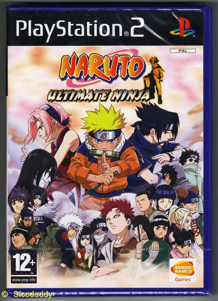 Naruto: Ultimate Ninja /PS2: Amazon.es: Videojuegos