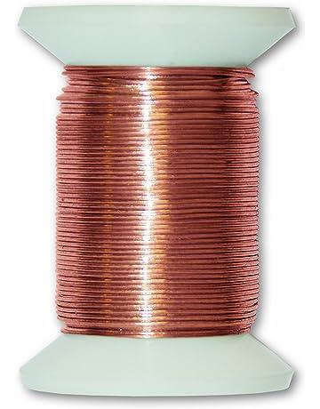 Chapuis VFCA2 Alambre metálico de cobre - Diámetro 0,4 mm - Largo 30 m