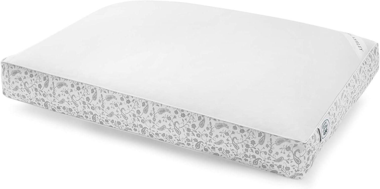 Laura Ashley Home – Cotton Sateen Pillow – 300T - Grey- Standard/Queen