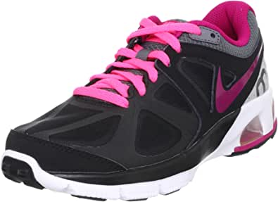 NIKE Zapatillas Running Wmns Air MAX Run Lite 4 Negro/Morado EU ...
