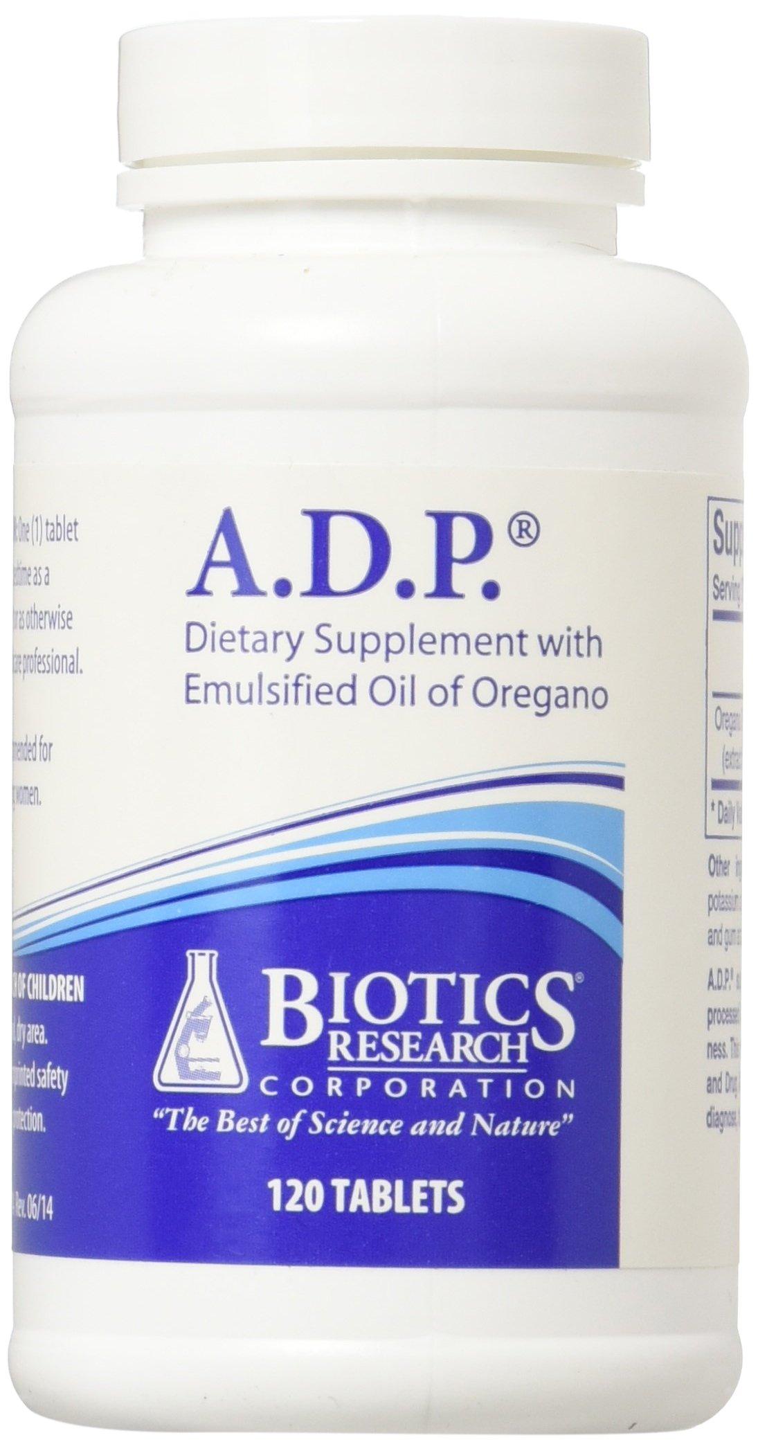 Biotics Research - A.D.P. 120 Tablets