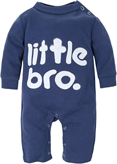 BIG ELEPHANT Baby Boys 1 Piece Long Sleeve Romper Pajama Clothes H12