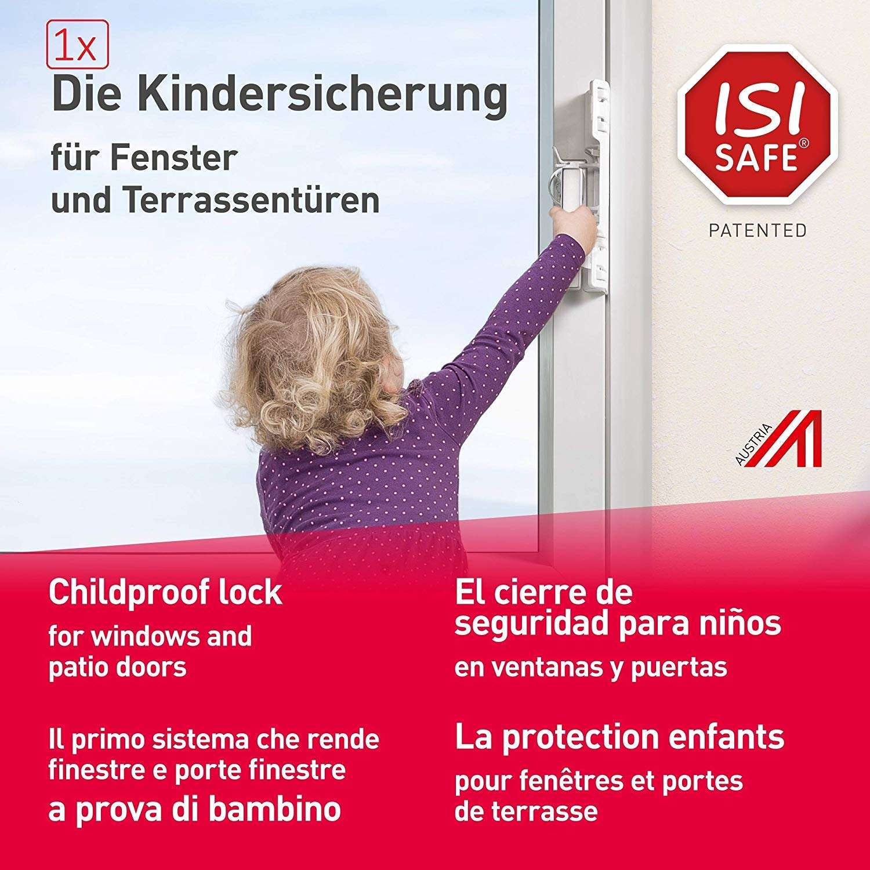 DXIA 4 Pack Kindersicherung f/ür Fenster und T/üren,Universal Kindersicherung,Baby T/ürdr/ückerschloss,Kinder T/ürhebelschloss mit 3M Klebstoff,Verhindern Sie das /Öffnen der T/ür,f/ür Kinder und Haustiere