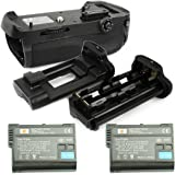DSTE® プロ 互换 MB-D12 垂直 バッテリーグリップ + 2x EN-EL15 のために Nikon ニコン D800 D810 D800E D800S カメラ