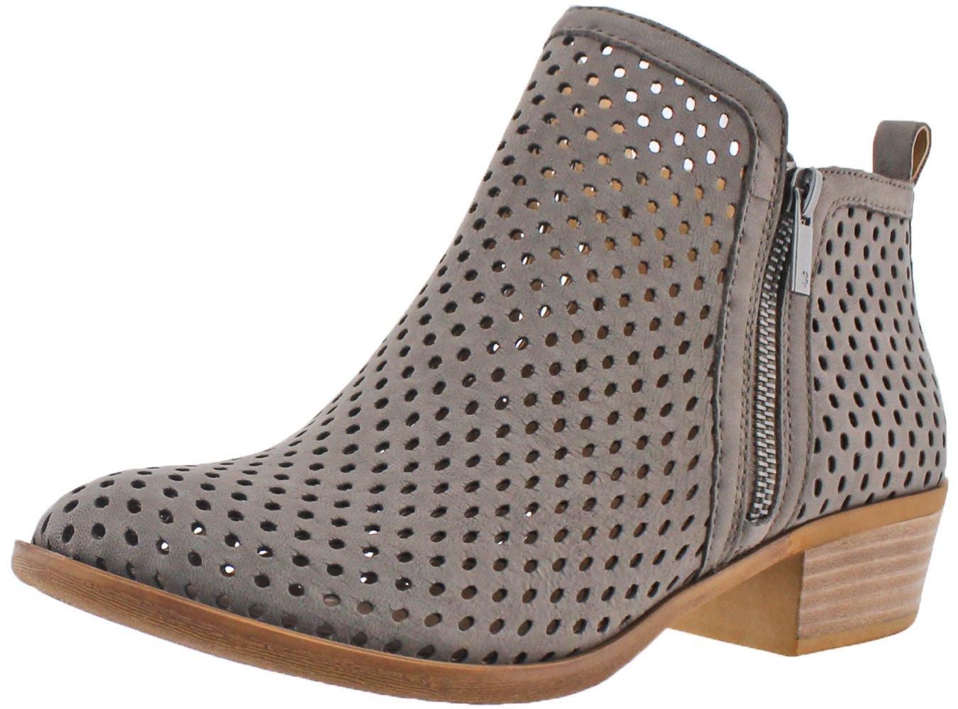 Lucky Brand Women's Basel Boot B017UT5SR8 8.5 C/D US|Dark Stone Nubuck