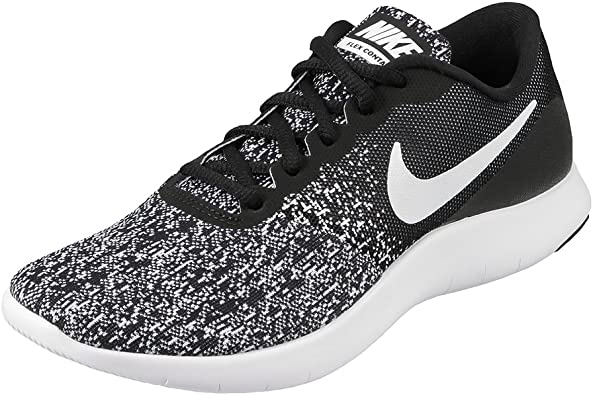 Nike Women's, Flex Contact Running Sneakers Black 7 M