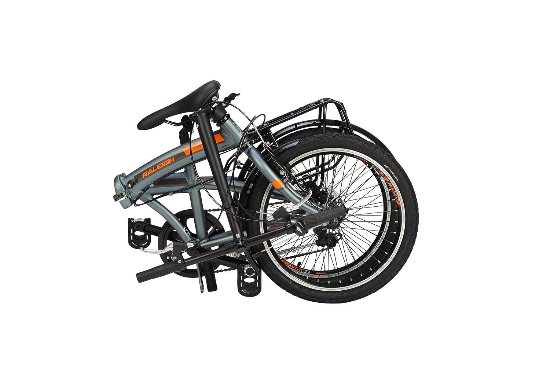 Bicicletta Pieghevole 20 Raleigh.Raleigh Stowaway Bicicletta Pieghevole Unisex A 7 Velocita Con
