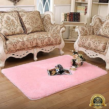 Amazon.com: HIGOGOGO Ultra Soft Living Carpet Thickness:4CM, 63 by ...