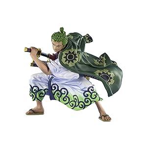 フィギュアーツZERO ONE PIECE ロロノア·ゾロ(ゾロ十郎) 約110mm PVC&ABS製 塗装済み完成品フィギュア