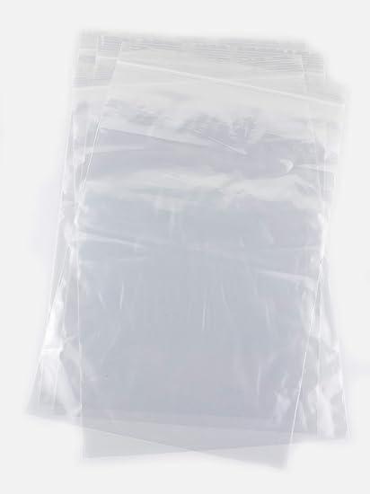1000 Bolsas de 20 x 30 cm, con Auto-Cierre con Cierre hermético, Muy Resistentes, aptas para Alimentos y para envasar Otros artículos. (Disponibles en ...