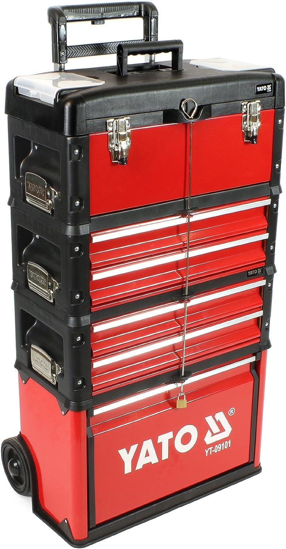 m/ódulo adicional YT-09107 Herramientas-maleta de 3 m/ódulos YT-09101