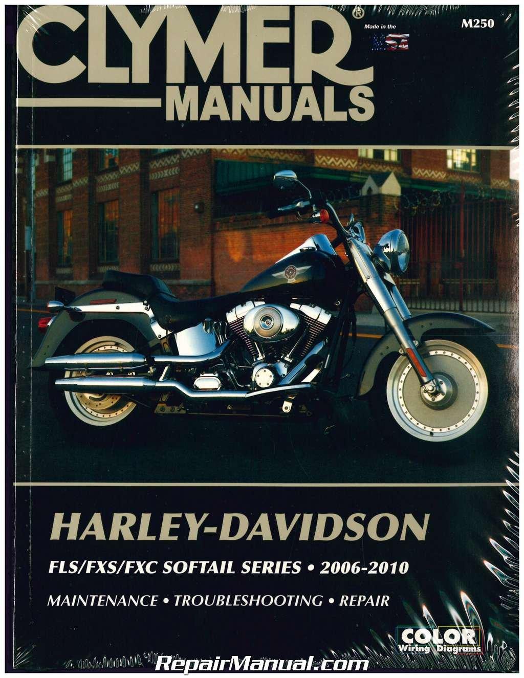 M250 Harley Davidson Softail Motorcycle Manual 2006-2010 Clymer:  Manufacturer: Amazon.com: Books