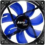 Aerocool Lightning Ventola da 120 mm a LED, Nero