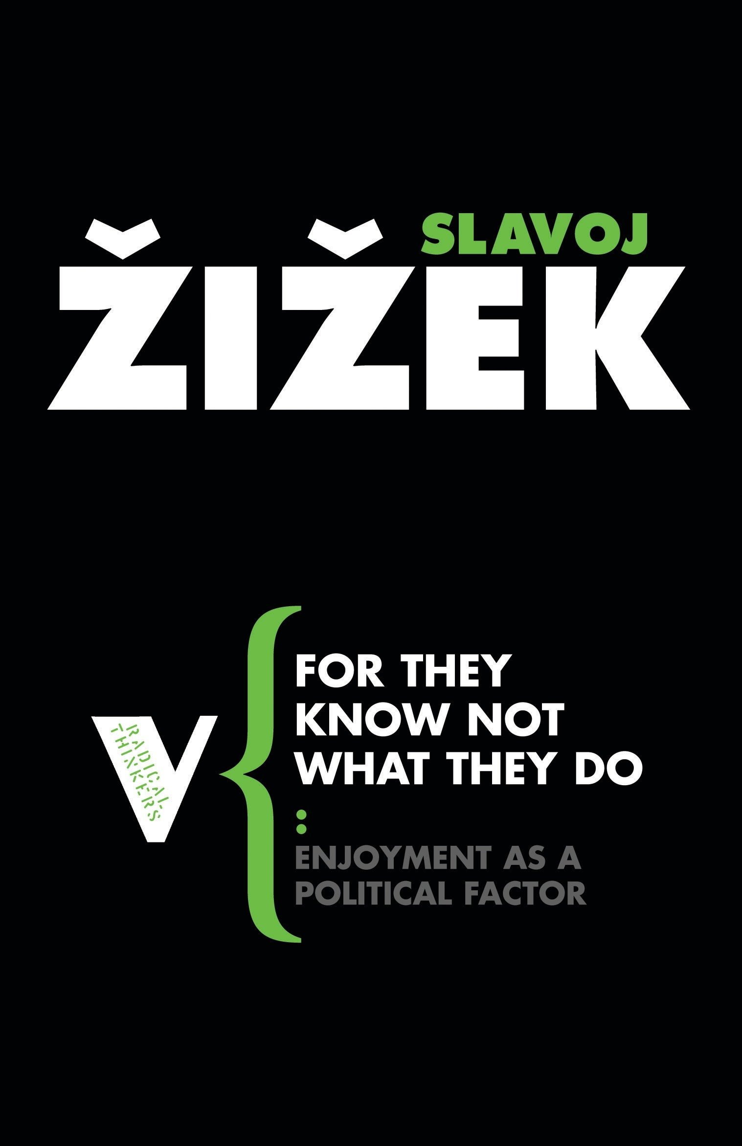 For They Know Not What They Do: Enjoyment as a Political Factor (Radical Thinkers) Text fb2 ebook