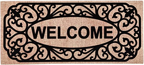 Filigree Welcome Sassafras Switch Mat – 22 x 1 x 10 Inches